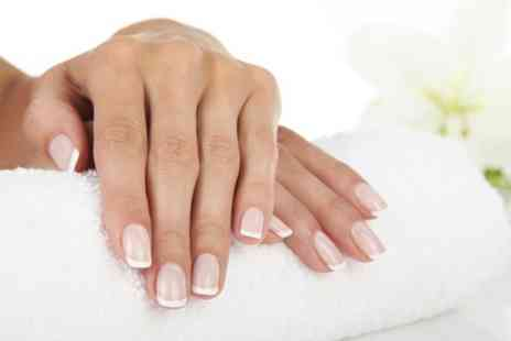 Beauty With Inn - Manicure Plus Swedish Massage  - Save 54%