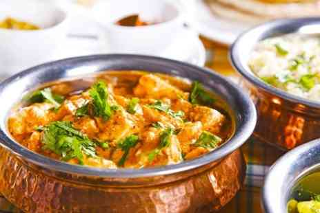 Ashoka Shak - Two Course Indian Meal With Sides and Beer For Two  - Save 59%