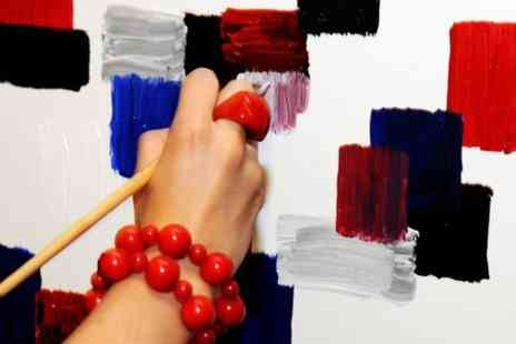 Paint Jam - Art Workshop With Bar and DJ  - Save 53%