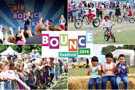Bounce Festival  - Ticket Family Festival - Save 54%