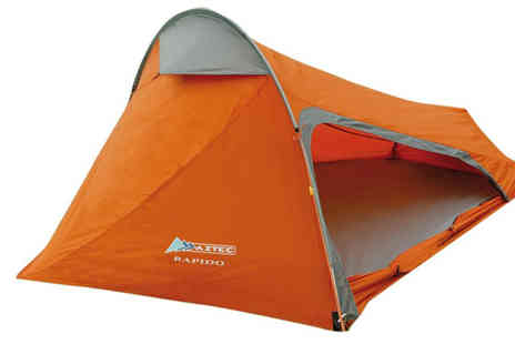 camping world - Choice of 2 Orange Aztec Tents - Save 17%