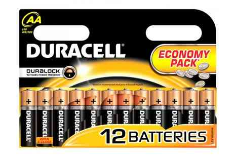 Battery Warehouse - Duracell AA Battery 12 Pack  - Save 39%