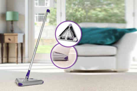 Swan Products - Triangular electric floor sweeper - Save 50%