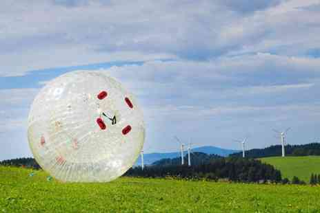 Leisure Matters - One hour zorbing experience for Two - Save 58%