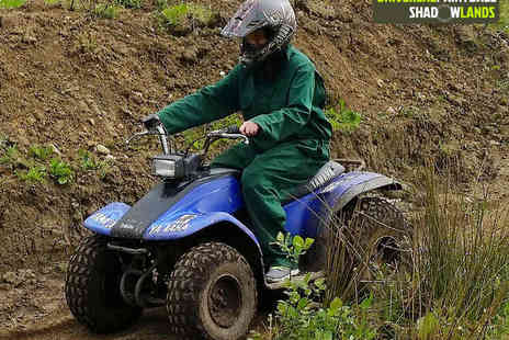 Universal Paintball Shadowlands - Quad Biking Experience for One  - Save 73%