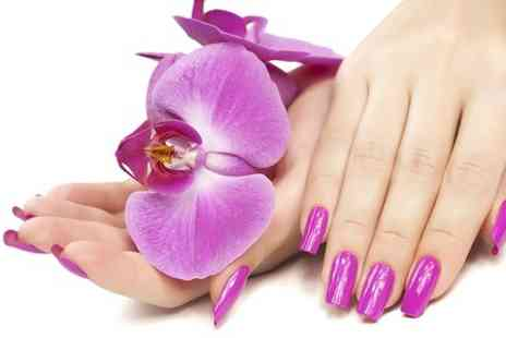 Beauty Indulgence - Shellac Manicure or Pedicure - Save 28%