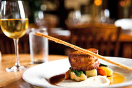 The White Hart  - AA Rosette Dining for Two with Prosecco - Save 45%