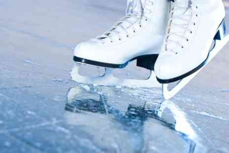 Jubilee Ice Arena - Family Entry and Skate Hire With Meals and Drinks - Save 57%