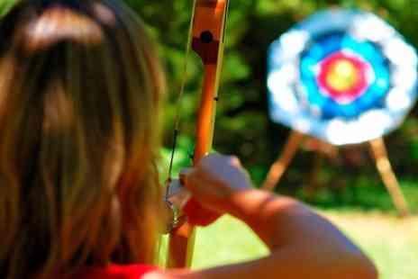 Mad Renaline Activities  - One Hour Sky Bow Archery Experience For One - Save 63%