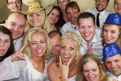 Photo Booth Studio - Party Hire With Prints - Save 50%