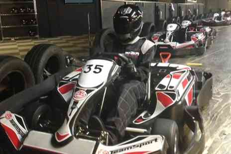 Teamsport Indoor Karting  - Karting Experience With Hot Dog  - Save 58%