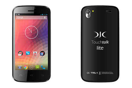 djc electronics - DJC Touchtalk Lite Android Dual SIM Smartphone - Save 26%