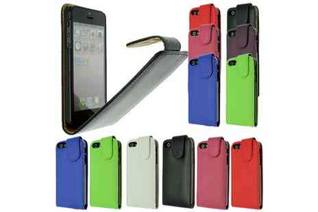 toolcollectionuk direkt2publik - Faux Leather Flip Case for the iPhone 5/5S - Save 82%