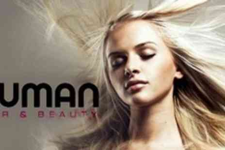 Human Hair & Beauty - Brazilian Blow Dry Wash and Cut - Save 72%