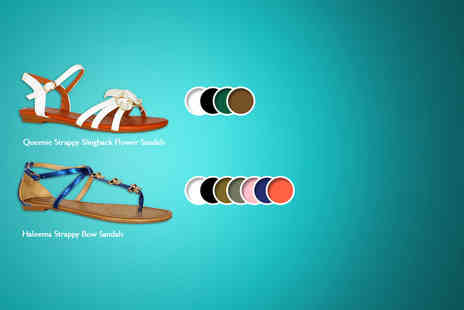 By Public Demand - Choice of sandals including jelly flip flops, bow sandals - Save 60%