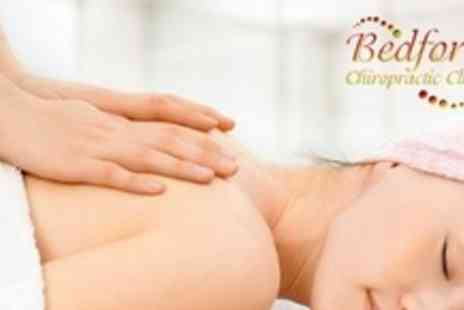 Bedford Chiropractic Clinic - Deep Tissue Sports Massage With Consultation - Save 71%