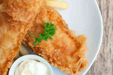 Vista Lounge - Soup of the Day and Fish and Chips Each for Two - Save 54%
