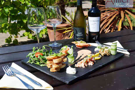 The Devonshire Arms - Sharing Platter with Bottle of Wine for Two People - Save 51%