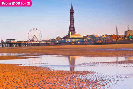 The Imperial Hotel - Overnight Stay for Two People in Blackpool - Save 50%
