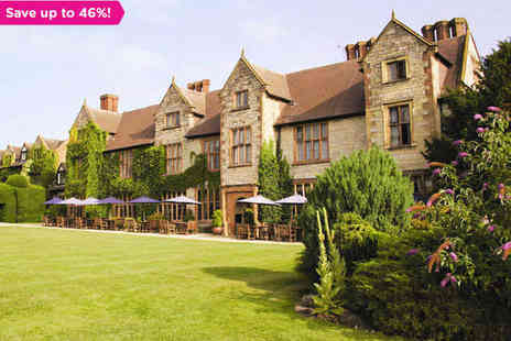 The Billesley Manor Hotel - One Night  Stay for Two in Warwickshire - Save 46%