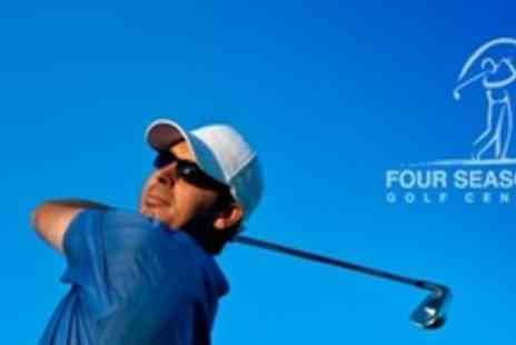 Four Seasons Golf Centre - One Hour Golf Lesson  With Level 3 PGA Pro - Save 61%