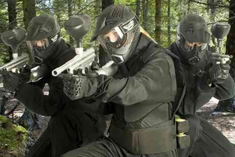 Horizon Paintball - Full Day Paintballing For Five - Save 87%