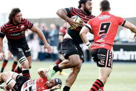 Saracens - Ticket  to Saracens v Ospreys  - Save 50%