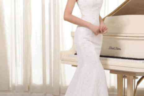 Londeal UK - Handmade White Bridal Gown Custom Size - Save 72%