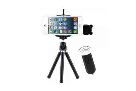 Deal Nation Direct - Wireless Remote with Tripod  - Save 63%