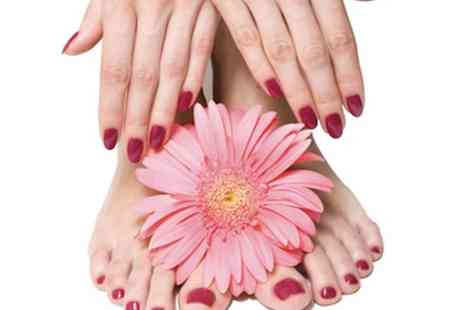 Eclipse Hair and Beauty - Gel polish manicure & pedicure - Save 65%