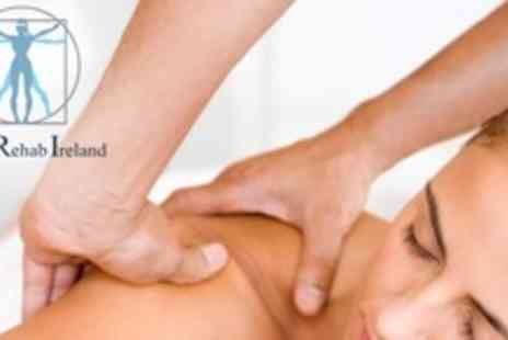 Sports Rehab Ireland - One Hour Sports Massage or Sports Injury Function Assessment - Save 67%