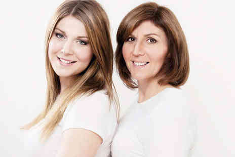 Nicola Bald Photography - Mother and Daughter Photo Shoot  with Bubbly, Hair Styling, Make-Up Session, Private Viewing of Images - Save 85%