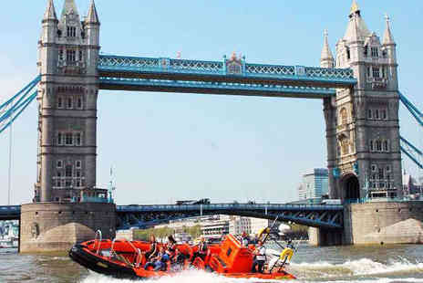 Rib Tours London - 50 Minute Thrill Speed RIB Tour with Photo - Save 50%