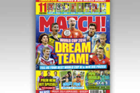 Bauer Consumer Media - 12 Issue Subscription to Match Magazine - Save 33%