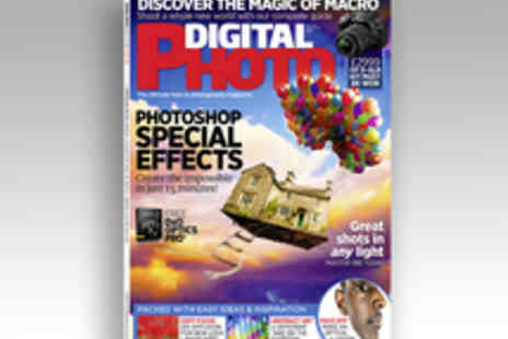 Bauer Consumer Media - Six Month Subscription to Digital Photo Magazine - Save 57%