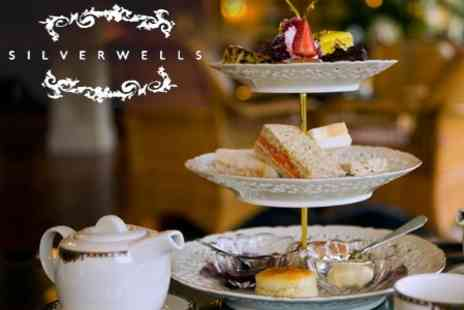 The Silverwells - Afternoon Tea For Two With A Glass Of Prosecco Each for £12.80 - Save 60%
