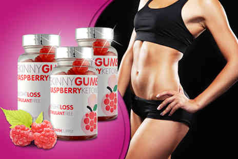 GB Supplement - One month* supply of raspberry ketone skinny gums - Save 77%
