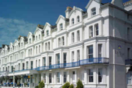 BEST WESTERN York House Hotel - Two Night Eastbourne Seafront Break for Two - Save 49%