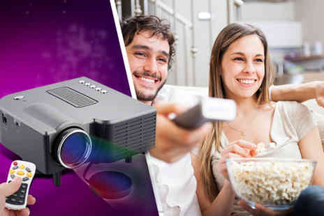 Eurosfield Maptrak - LED digital home mini projector and remote control - Save 54%