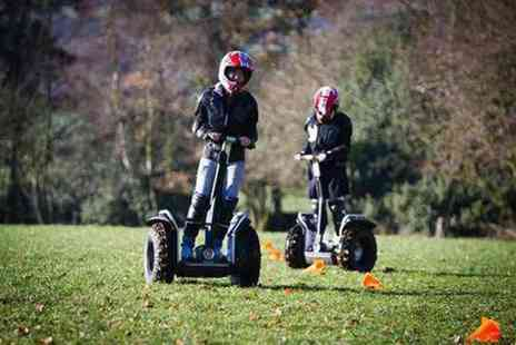 Tank Driving Scotland - 30 minute Segway experience for two - Save 50%