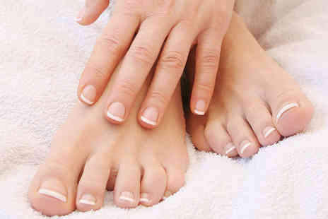 Sunshine Factory - Manicure and Pedicure - Save 53%