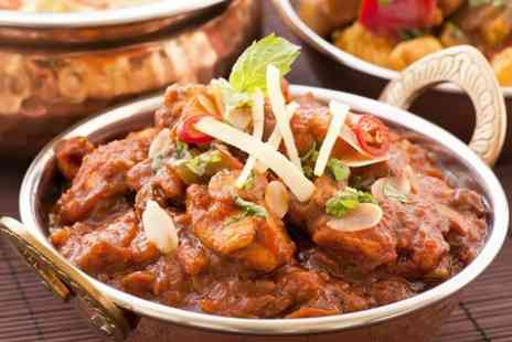 The Burj - Two Course Indian Meal With Sides For Two - Save 53%