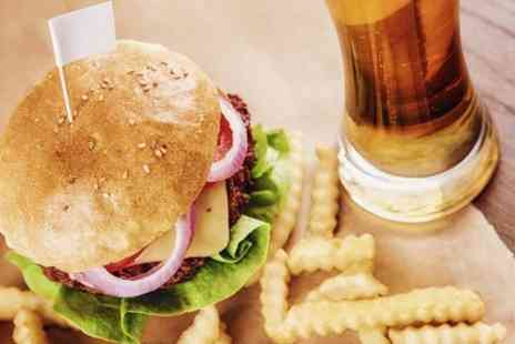 Ruby Lounge Hull - Beer and Burger For Two - Save 56%