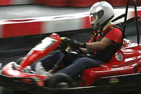 Indoor Super Karting - 30 Laps of Go Karting For One  - Save 60%