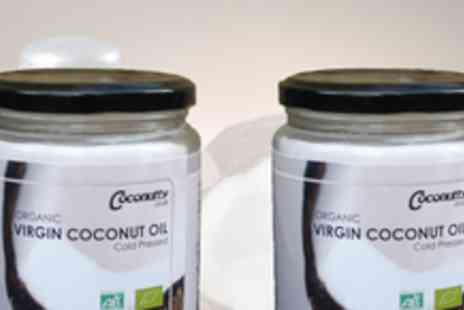 Coconutty - 2 x 460g jars of Organic Virgin Coconut Oil - Save 50%