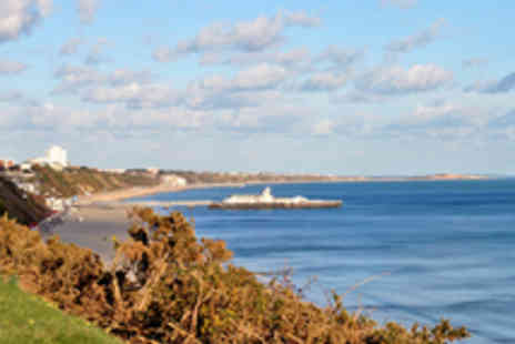 Riviera Hotel - Two Night Bournemouth Break for Two Including Dining - Save 32%