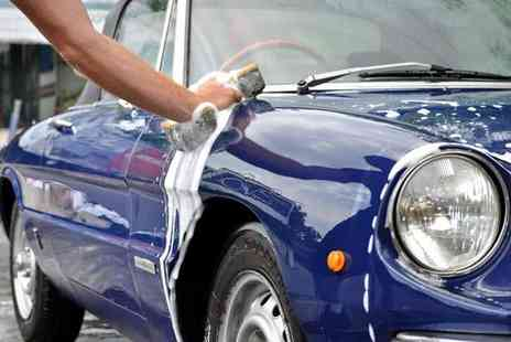 The Best Hand Car Wash - Full Gold car valet service including internal and external clean wax T cut and engine wash  - Save 52%