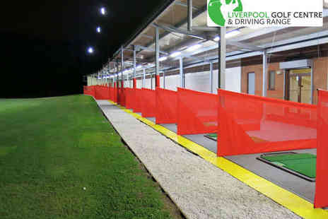 Liverpool Golf Centre - 18 Holes of Golf 100 Driving Range Balls, Club Hire and a Hot Drink Each for On - Save 53%