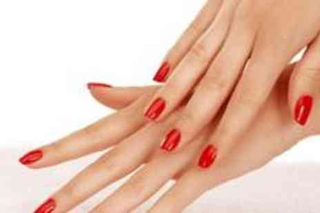 Gorgeous Nails - Gellux deluxe manicure or pedicure - Save 74%
