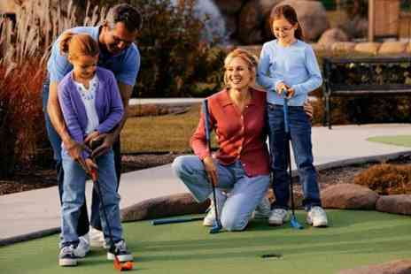 Liverpool Golf Centre - Mini Golf With Drink Plus Driving Range Time - Save 64%